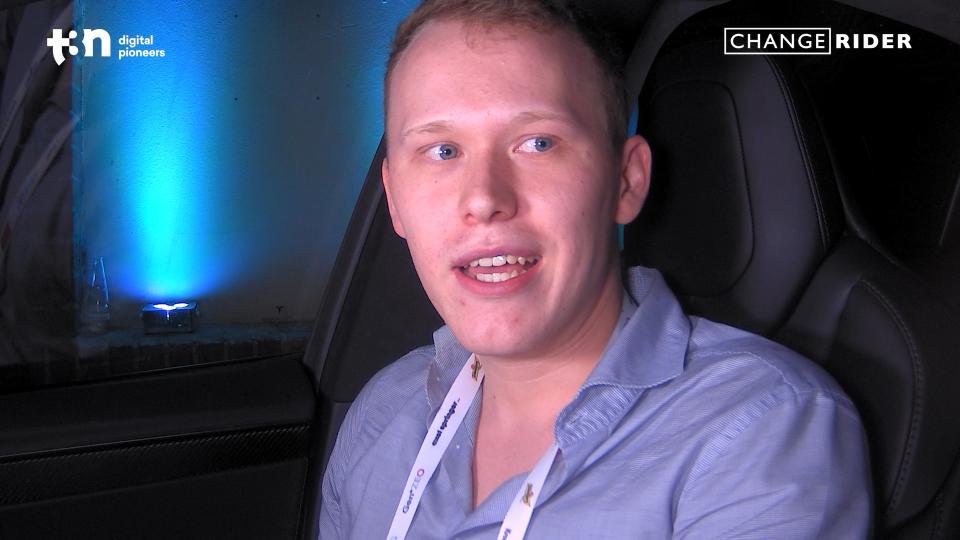StartUp-Gründer Maximilian Rellin