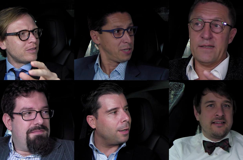 Beim ersten Special vom SZ Wirtschaftsgipfel 2018 sprechen ein CEO, ein Philosoph, ein Seriengründer, ein Professor und ein Karikaturist über Wirtschaft, Startups, Robotic und mehr
