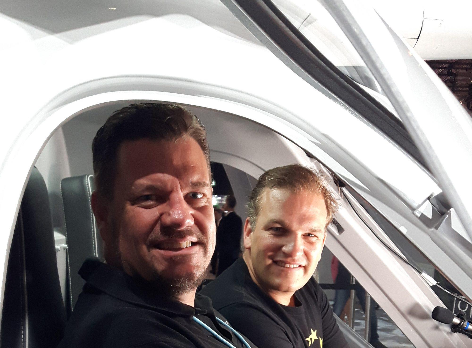 Chairman, Volocopter Stefan Klocke